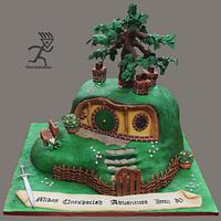 BagEnd House for a Hobbit....All Edible