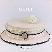 Classic Ruffle Cake