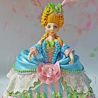Marie Antoinette Cake..