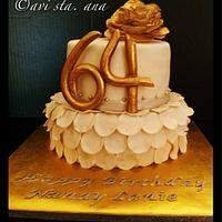 Gold/Silver Cake