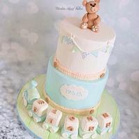 Fionn's Christening Cake