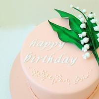 Lily of Valley Cake
