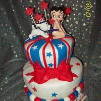 Betty Boop Cake for Caroline's Birthday