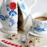 Blue Onion porcelain set