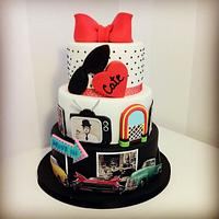 Back to 50's cake