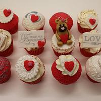 LOVE ~ FOREVER TOGETHER CUPCAKES