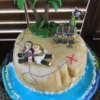 Pirate Cake