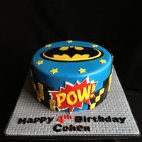 Batman cake by Elizabeth