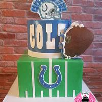 Indianapolis Colts Birthday Cake