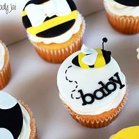 Bay-Bee Shower Cupcakes by Jai Mobley