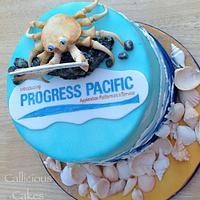 Oceanic Cake