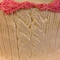 Knitted cake by Carrie68