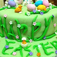 Easter Bunnies by Tina Avira Tharakan