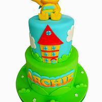 Henry Huggle Monster cake