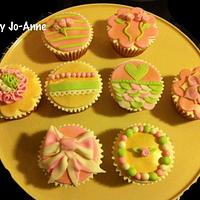 Pink Velvet Cupcakes by Cakes by Jo-Anne