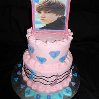 Another Justin Beiber Cake...