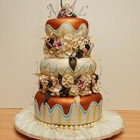 My First Proper Wedding Cake!
