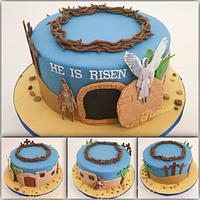 Easter Celebration Cake - He is Risen