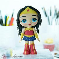 Wonder Woman Cake Topper