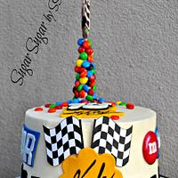 Kyle Busch / NASCAR Birthday Cake
