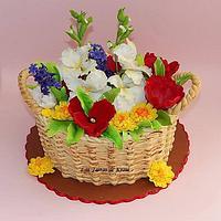 gladiolus, hyacinth, tulip, chrysanthemum for anniversary