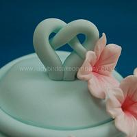 Blossom teapot cake