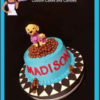 Doggie Kibble Bowl Cake