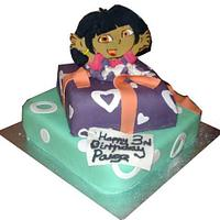Childrens Jumping Out Character Cake