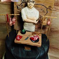 Butcher Realistic Cake