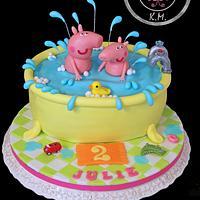 Peppa Pig - Bath Time Fun :-)