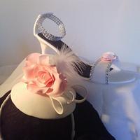 Wedding Fascinator & Shoe
