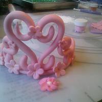 my first gum paste tiara! by Andria Jones