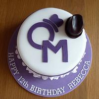 Olly Murs ruffle cake