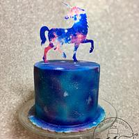 Unicor galaxy cake