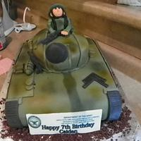 Army Tank by AveryCakes