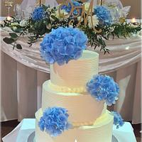 Creame wedding cake II.