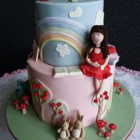 Sophie's Secret Garden Cake