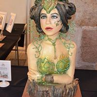 """""""Breena"""" First prize and gold medal in 3D category, BCN&CAKE 2016"""