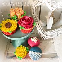 Buttercreamflower Cupcakes