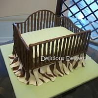 Baby Crib Cake by DeliciousDeliveries