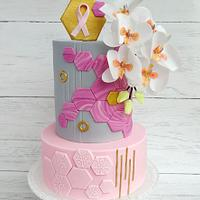 World Cancer Day Sugarflowers and Cakes in Bloom - Nothing is impossible