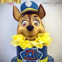 Gâteau sculpté Paw Pautrol