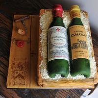Wine for a Connoisseur - Cake