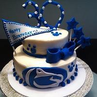 Penn State Cake!