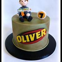 NERF themed cake