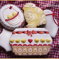 Biscotti decorati: Easter cookies