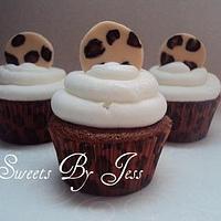 Leopard cupcakes by Jess B