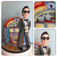 Buddy Holly cake