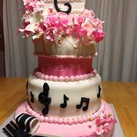 La Quinceañera Cake