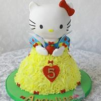 Hello Kitty as Snow White